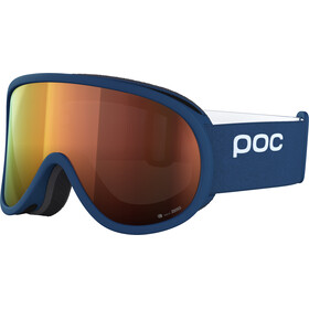 POC Retina Clarity goggles, lead blue/spektris orange